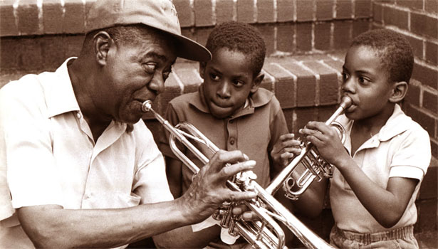 The Life And Music Of Louis Armstrong The New Jazz Archive