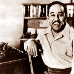Jazz poet Langston Hughes