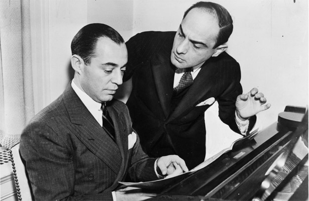 Tin Pan Alley greats Richard Rodgers and Lorenz Hart